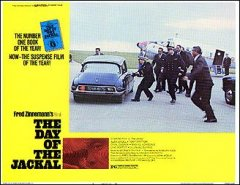 DAY OF THE JACKAL #6 from the 1973 movie. Staring Edward Fox