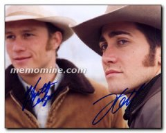 Brokeback Mountain cast two signed