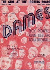 Dames Dick Powell Ruby Keeler 1934