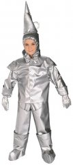 Tinman Child Costume Wizard of Oz Sizes TODD, S