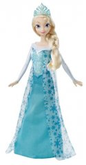 Frozen Disney Princess Sparkle Elsa Fashion Doll