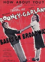 Babes on Broadway Mickey Rooney Judy Garland 1941