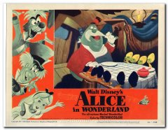 Alice in Wonderland Walt Disney
