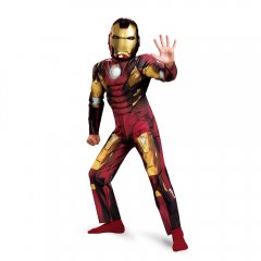 Avengers IRON MAN MARK 7 Classic Muscle Child Costume Size M 7-8