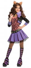 MONSTER HIGH Clawdeen Wolf� Child DELUXE Costume