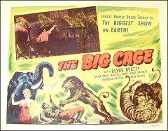 Big Cage Clyde Beatty Anita Page Andy Devine 1950R