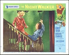 Night Walker William Castles Roberet Taylor Barbara Stanwyck # 5 1965