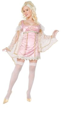 PLAYBOY Licensed Costume PRINCESS XS, S, M