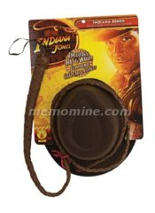 Indiana Jones Adult Hat & Whip STD IN STOCK!!!