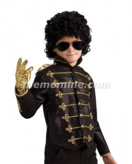 Michael Jackson BLACK MILITARY JACKET Child DELUXE Costume PRE-SALE