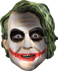 Dark Knight Joker Child Mask Thick PVC injection molded
