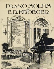 Piano Solos by E.R. Kroeger