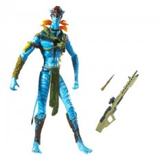"AVATAR 7"" JAKE SULLY WARRIOR FIGURE WEBCAM I-TAG MIB *In Stock*"