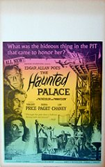 HAUNTED PALACE Price, Chaney Jr.