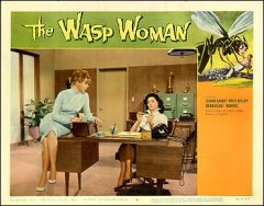 Wasp Woman Susan Cabot Barboura Morris Fred Eisley
