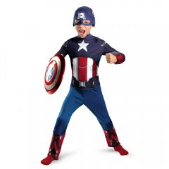 Avengers Captain America Movie Classic Child Costume