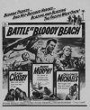 BATTLE AT BLOODY BEACH Audie Murphy, Gary Crosby