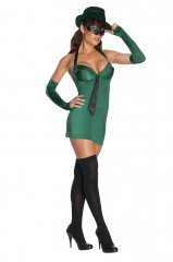 Green Hornet Womans Adult Costume PRE-SALE