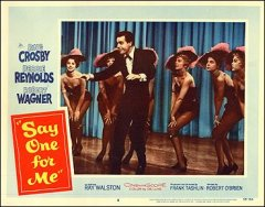 SAY ONE FOR ME Bing Crosby Debbie Reynolds Robert Wagner