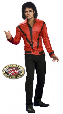 Michael Jackson Red Thriller Jacket S,M,L,XL IN STOCK!