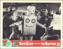 Santa Claus conquers the Martians Robot