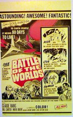 BATTLE OF THE WORLDS