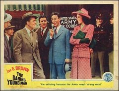 DARING YOUNG MAN from the 1942 movie. Staring Joe E. Brown #5