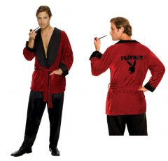 Playboy Hugh Hefner Robe