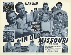 IN OLD MISSOURI Alan Ladd R53 TC