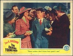DARING YOUNG MAN from the 1942 movie. Staring Joe E. Brown #3