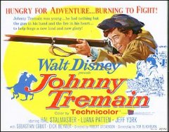 JOHNNY TREMAIN Walt Disney Hal Stalmaster 1957 TC