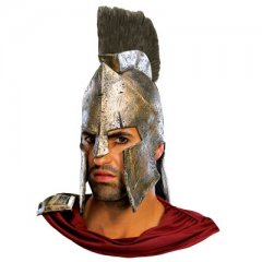 Deluxe King Leonidas Helmet 300 The Movie In Stock