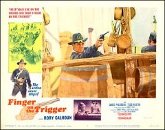 Finger on the Trigger Rory Calhoun pictured James Philbrook