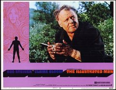 ILLUSTRATED MAN Rod Steiger, Claire Bloom 1969 # 4