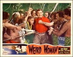Weird Woman Lon Chaney pictured