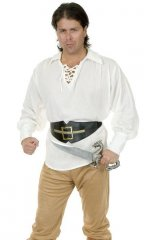 Pirate Shirt Buccaneer - Gauze ( Unisex ) **IN STOCK**