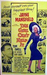 GIRL CANT HELP IT Jayne Mansfield, Tom Ewell