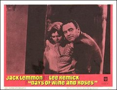 DAYS OF WINE AND ROSES card #2 from the 1963 movie. Staring Jack Lemmon, Lee Remick