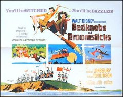 Bedknobs and Broomsticks Disney Angela Lansbury 1971