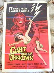 Giant from the Unknown Edward Kemmer 1958