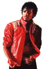 Michael Jackson Beat It Jacket - Red Deluxe CHILD Costume IN STOCK