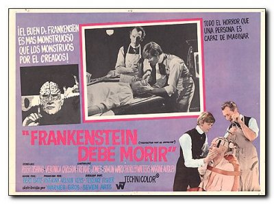 Frankenstein Must Be Destroyed PeterCushing Veronica Carlson