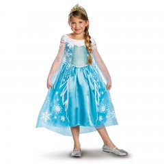 Frozen Elsa Deluxe Girls Costume