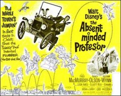 Absent Minded Professor Fred MacMurry Walt disney