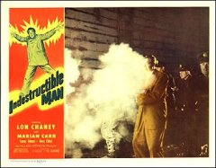 Indestructable Man Lon Chaney Marian Carr Chaney in the smoke