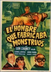 Man Made Monster Lon Chaney Lionel Atwill Anne Nagel