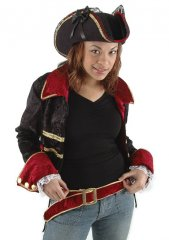 Disney Pirates of the Caribbean Lady Buccaneer DELUXE HAT