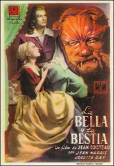 Beauty and the Beast French La Bella y the Bestia Jean Cocteau Jean Marais