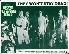 Night of the Living Dead #4 1968 swhows the walking dead