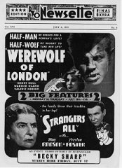 Werewolf of London Henry Hull Warner Oland Strangers All May Robinson Preston Foster